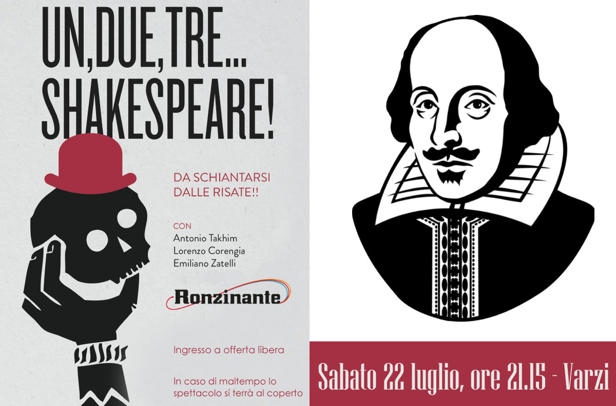 22 Luglio '17 – Shakespeare… Di Una Notte Di Mezza Estate