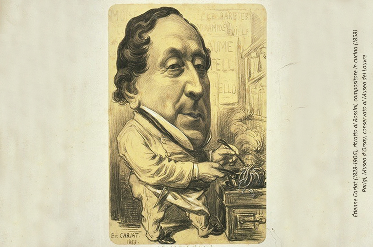 Rossini, Compositore In Cucina